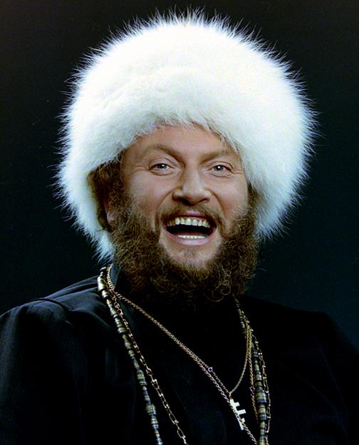 Tapez avec sa chanson russe